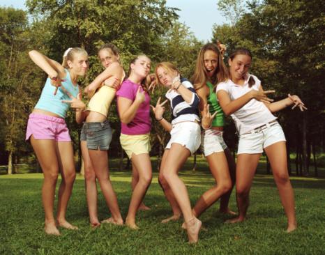 девочки тинейджеры фото