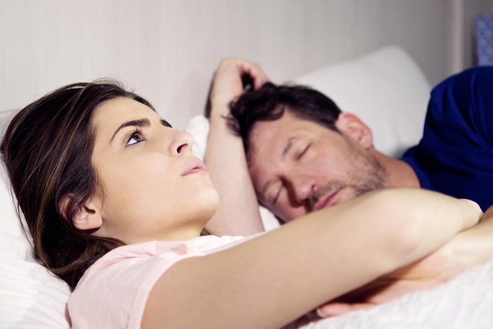 С мужем стали реже заниматься сексом