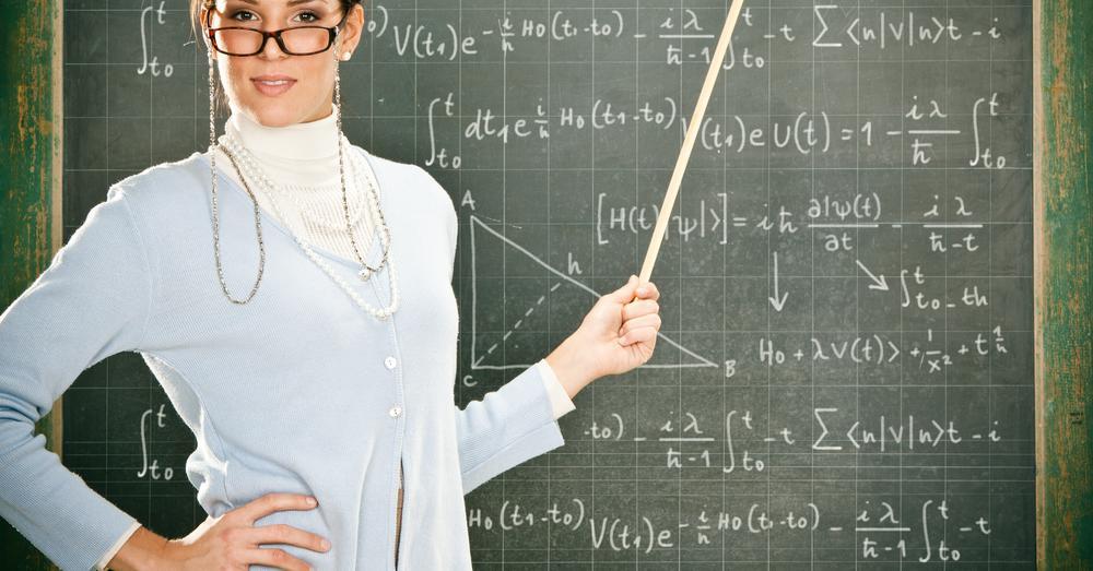 Образ учительницы в картинках