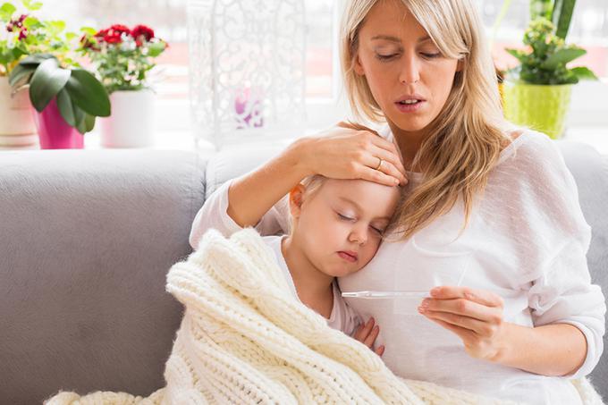 Mama meri detetu temperaturu