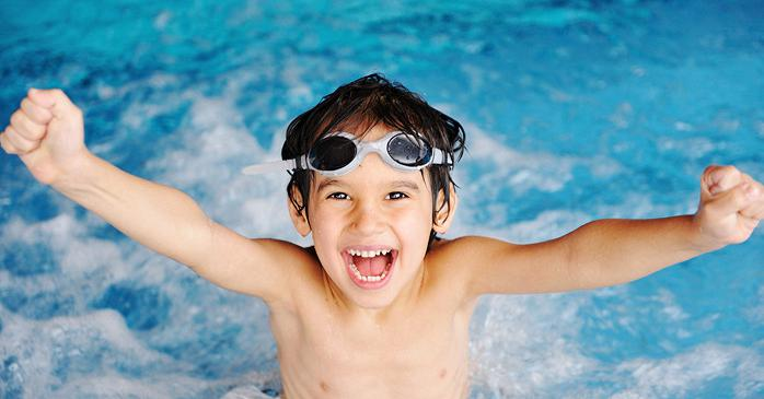 Упражнение поплавок в плавании