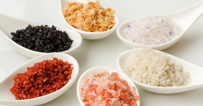 Виды морской соли