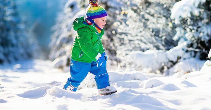 До какой температуры можно гулять с ребенком