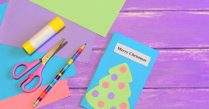 b2ca3b942a89d80c9244ca0def6636a1f85d8ebb Новогодние открытки своими руками: 23 идеи для вдохновения || 7 идей для новогодних открыток