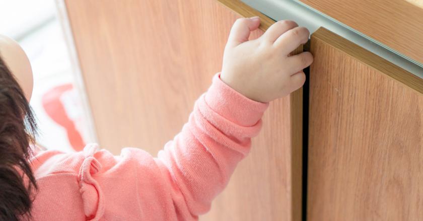 Что делать, если ребенок прищемил палец